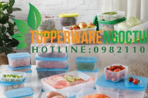 Giữ thực phẩm lâu hơn nhờ hộp bảo quản thực phẩm Tupperware